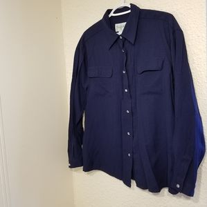 Vintage Northern Traditions Faux Diamond Button-Up